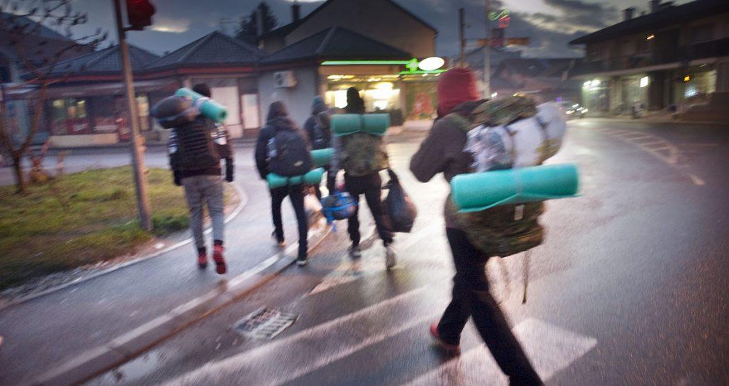 miggranten in Bosnië en Herzogovina